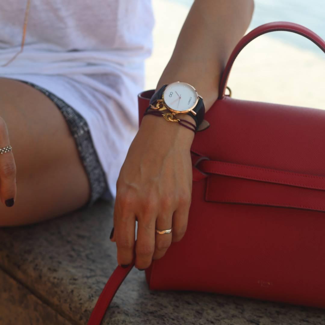 Naxos Classic klasická kolekce designových hodinek